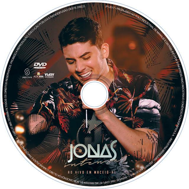 Label DVD Jonas Intense ao Vivo em Maceió AL