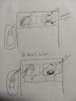 madre cansada por no poder dormir
