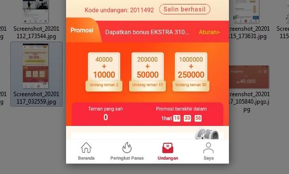 Bonus Tak Terduga Dari Cashzine, Bisa Dapat 1.250.000 Viralkan Segera!
