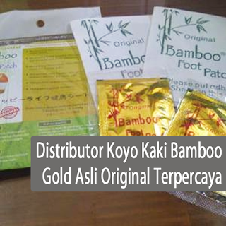 Distributor Koyo Kaki Bamboo Gold Asli Original Terpercaya