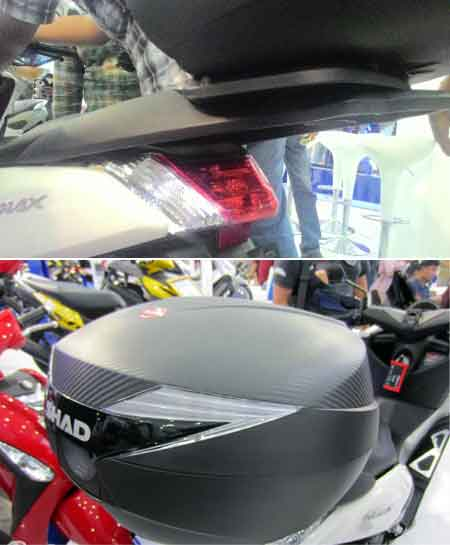 Aksesoris Yamaha NMAX: Rear Rack
