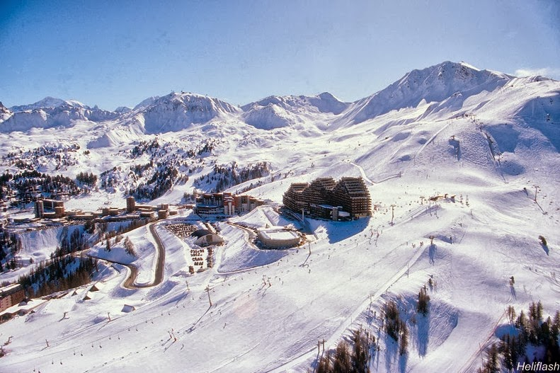 La Plagne, France - The Top Ski Resorts for Families In The World