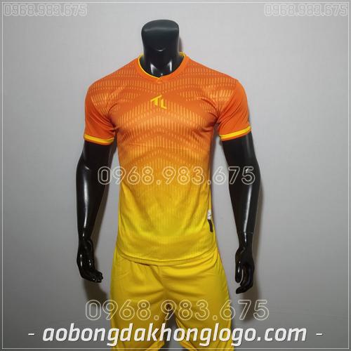 Áo bóng đá không logo TL HML Rius Màu Cam