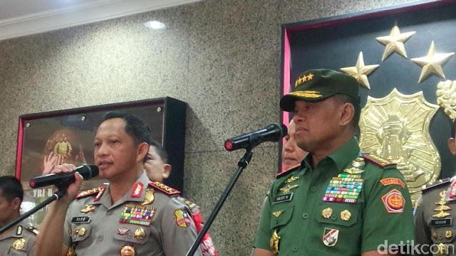 Tegas!! Demi Ketertiban Umum, Polri dan Panglima TNI Larang Keras Aksi 2 Desember