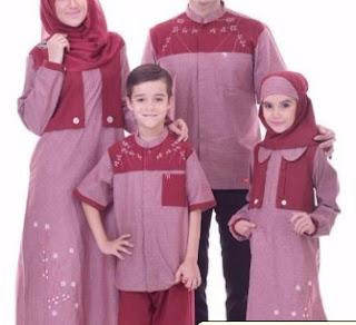 Baju Lebaran Keluarga