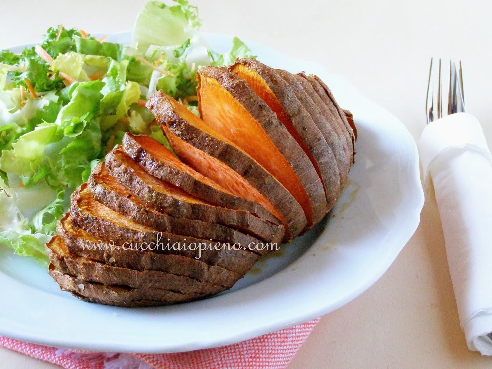 batata-doce assada