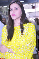 Mannara Chopra Looks Cute in Yellow Salwar Suit ~  Exclusive 25.JPG