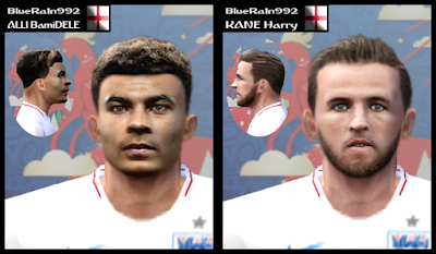 PES 6 Facepack England World Cup 2018 Russia by BR92