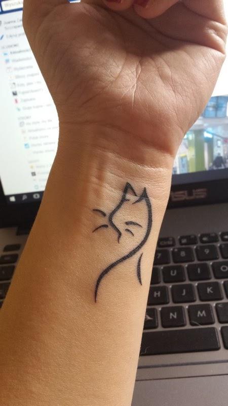 tatuaż nadgarstek