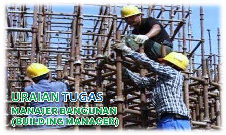 Tugas Manajer Bangunan (Building Manager)