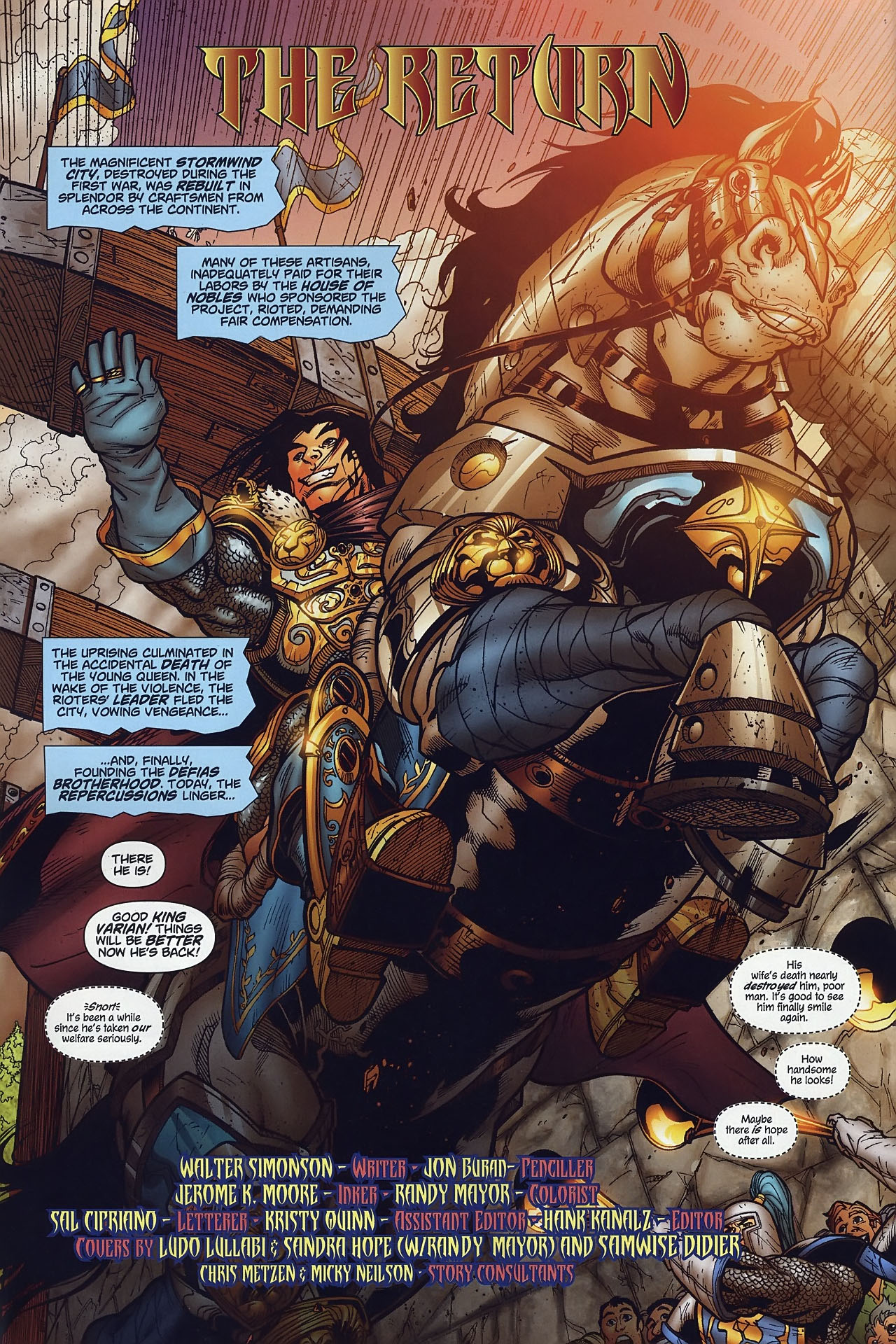 Read online World of Warcraft comic -  Issue #8 - 3