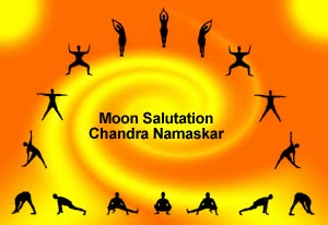 blissful lotus yoga cooling and quieting moon salutation