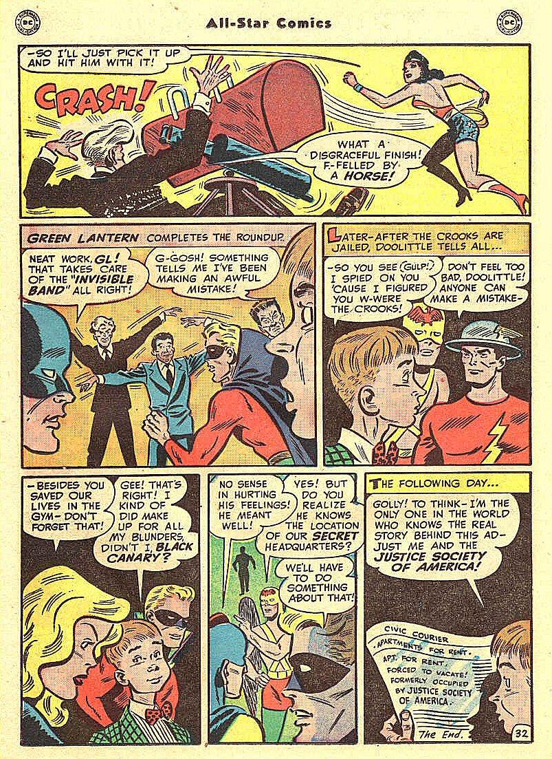 Read online All-Star Comics comic -  Issue #46 - 36