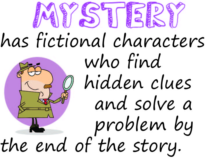 Mystery Genre Posters - voitures-americaines info
