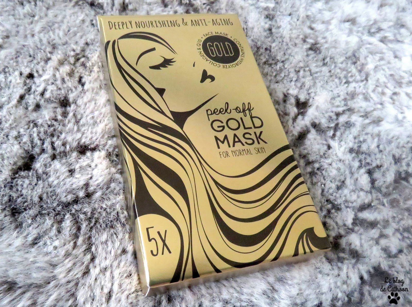 Gold Mask - Peel Of - Action