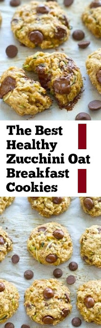The Best Healthy Zucchini Oat Breakfast Cookies #best #cookies #healthybreakfast #easybreakfast #dessert #breakfast #easycookie #zucchini #oat #whole30 #holidayrecipes