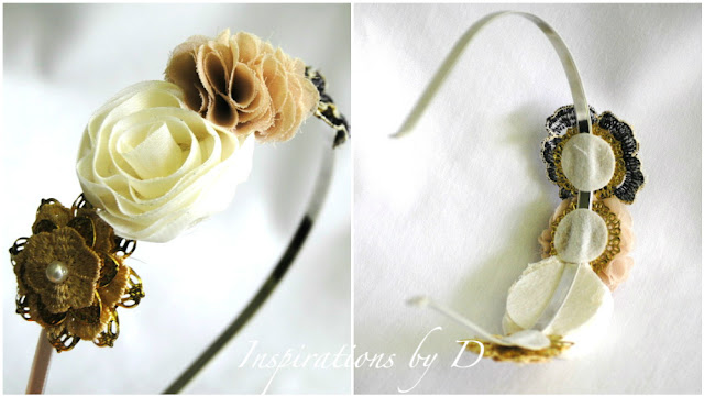 DIY: Fabric Flower Headband