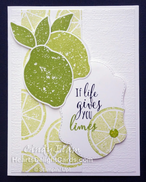 Heart's Delight Cards, Lemon Zest, SRC - Lemon Zest, Stampin' Up!