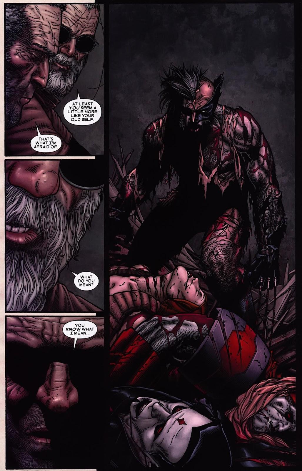 Read online Wolverine (2003) comic -  Issue #69 - 18