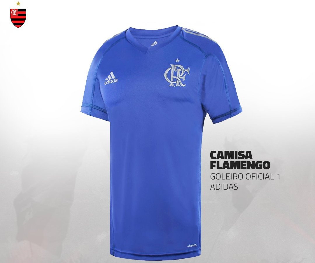 Flamengo inicia venda da nova camisa de goleiro.  c9d0617ed5277