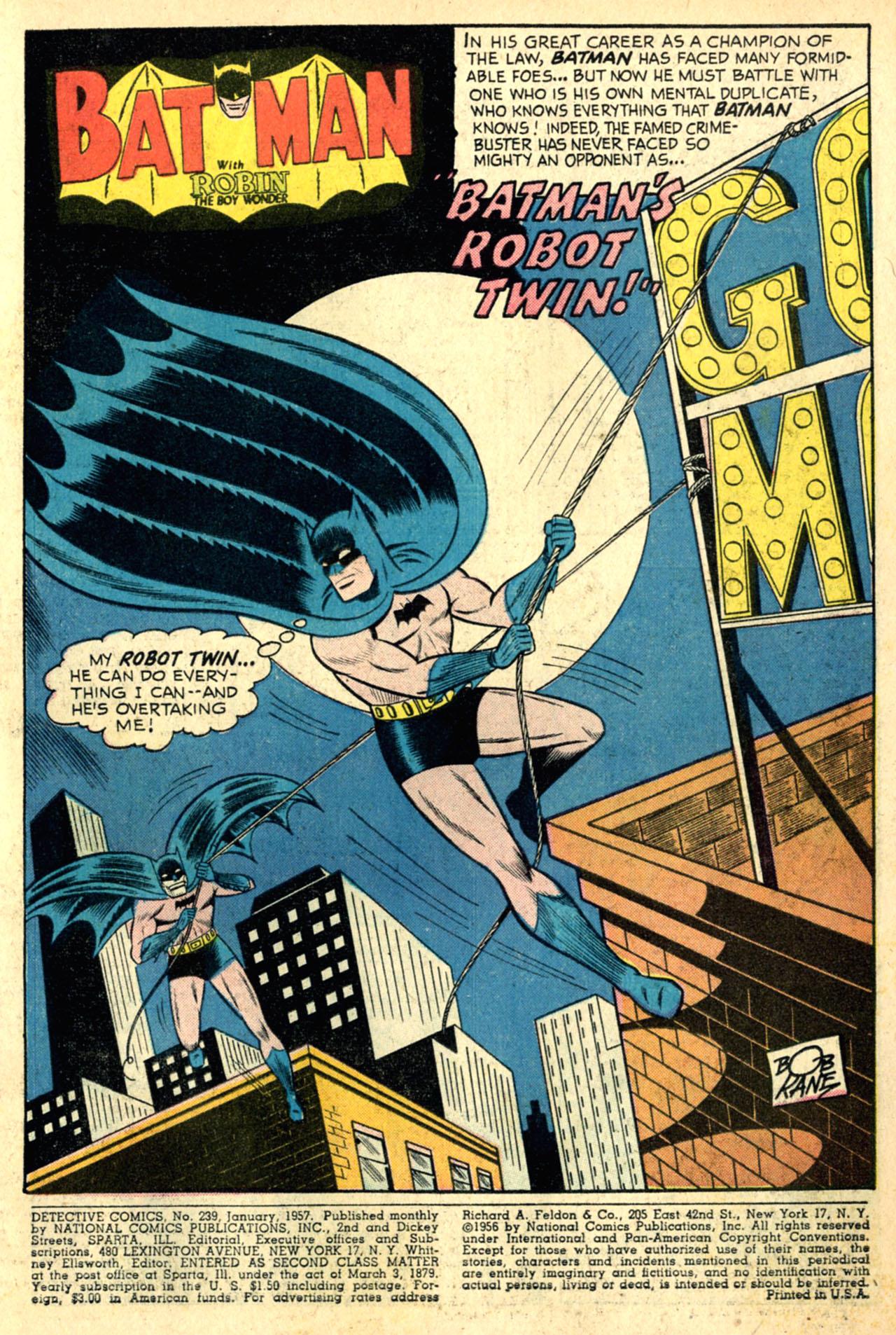 Read online Detective Comics (1937) comic -  Issue #239 - 3