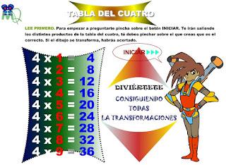 http://www.eltanquematematico.es/preguntatablas/cuatro/cuatro_p.html