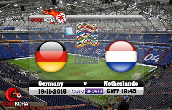 مشاهدة مباراة ألمانيا وهولندا اليوم 19-11-2018 دوري الأمم الأوروبية