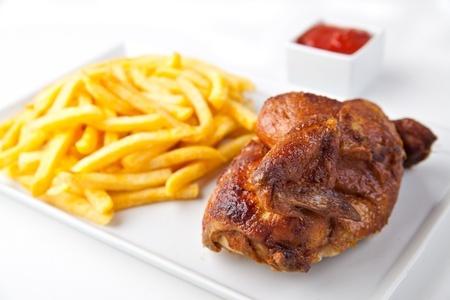pollo a la brasa preparado en mi cocina peruana