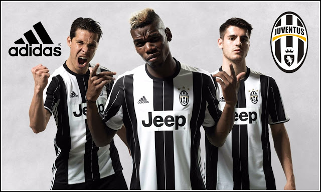 Juventus 2016-17 adidas Home Kit