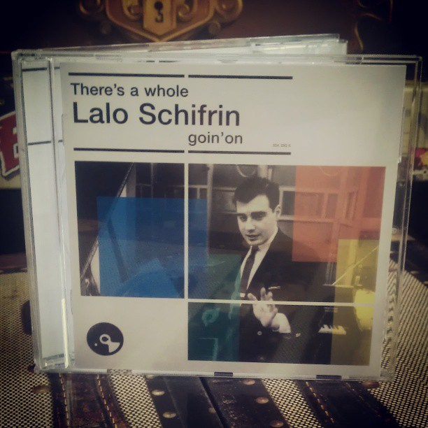 There's a whole Lalo Schifrin goin'on