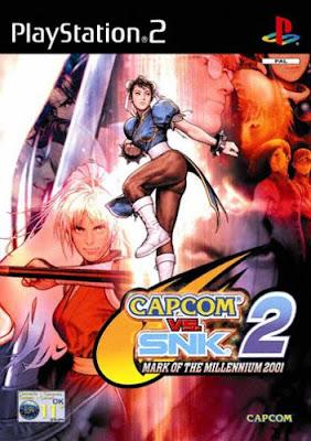 Capcom Vs SNK 2   PS2