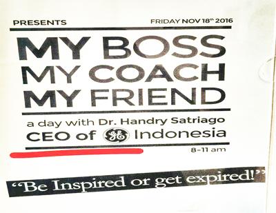 My Boss, My Coach, My Friend