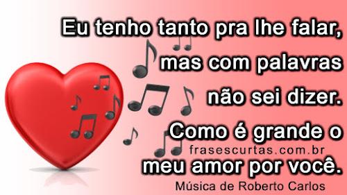 Frases Românticas De Musicas