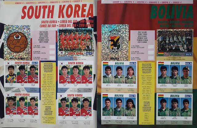 USA '94 WORLD SOCCER CHAMPIONSHIP GROUP C SOUTH KOREA