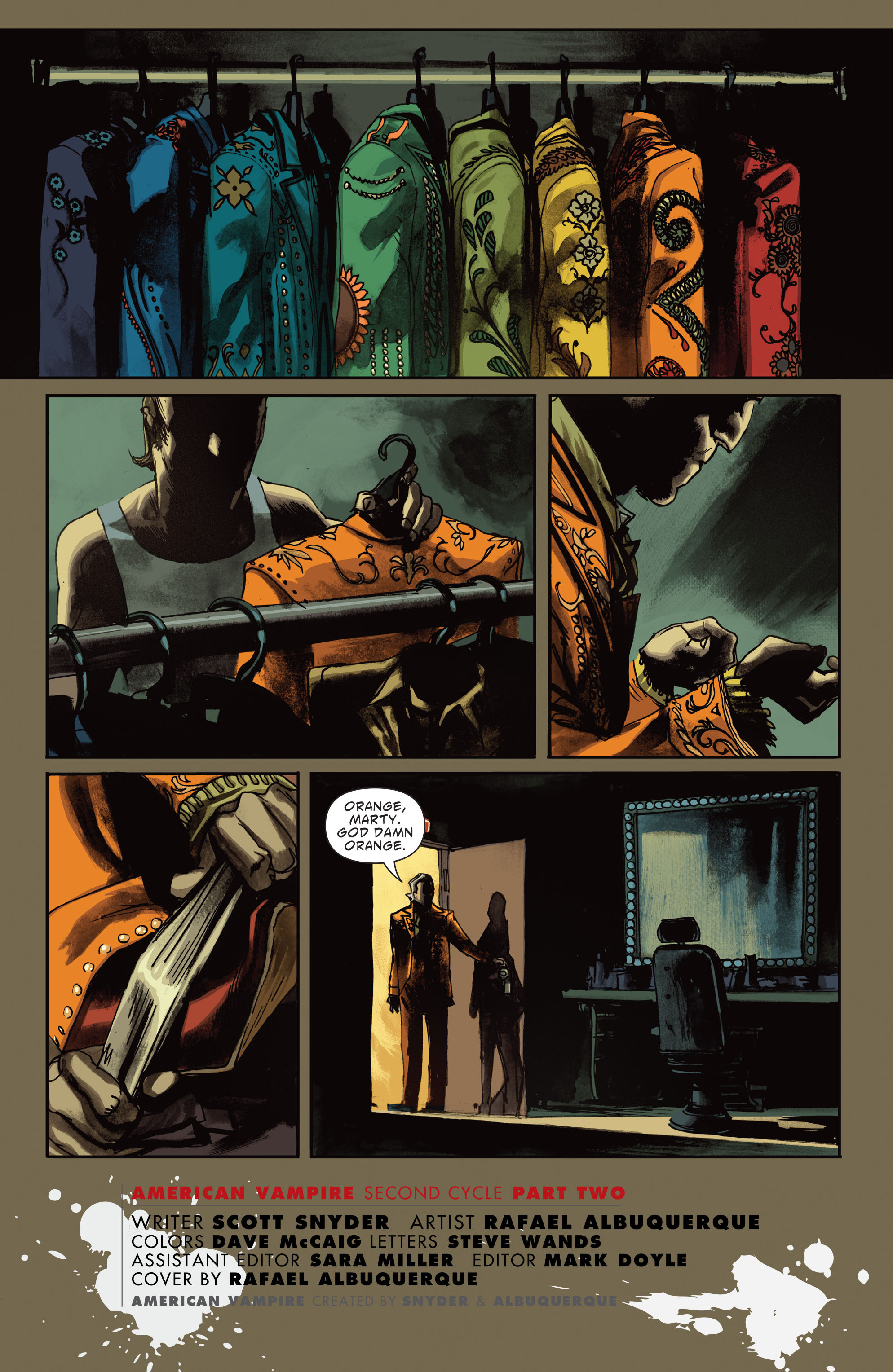 Read online American Vampire: Second Cycle comic -  Issue #2 - 2