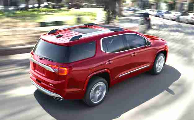 2019 GMC Acadia Changes