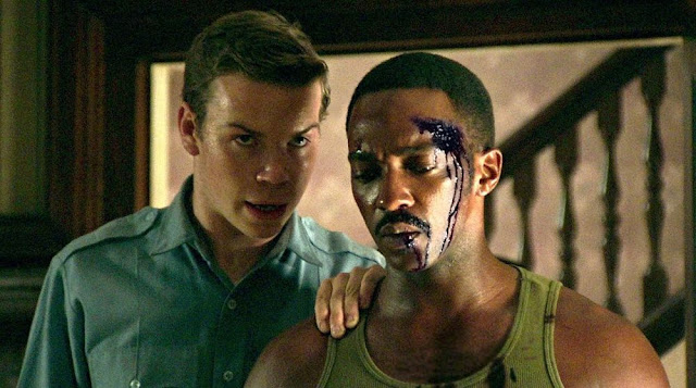 "Will Poulter and Anthony Mackie in Kathryn Bigelow's ""Detroit"""