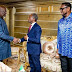 Bishop TD Jakes rock 'senator', meets Vice President Osinbajo at COZA, Abuja (PHOTOS)