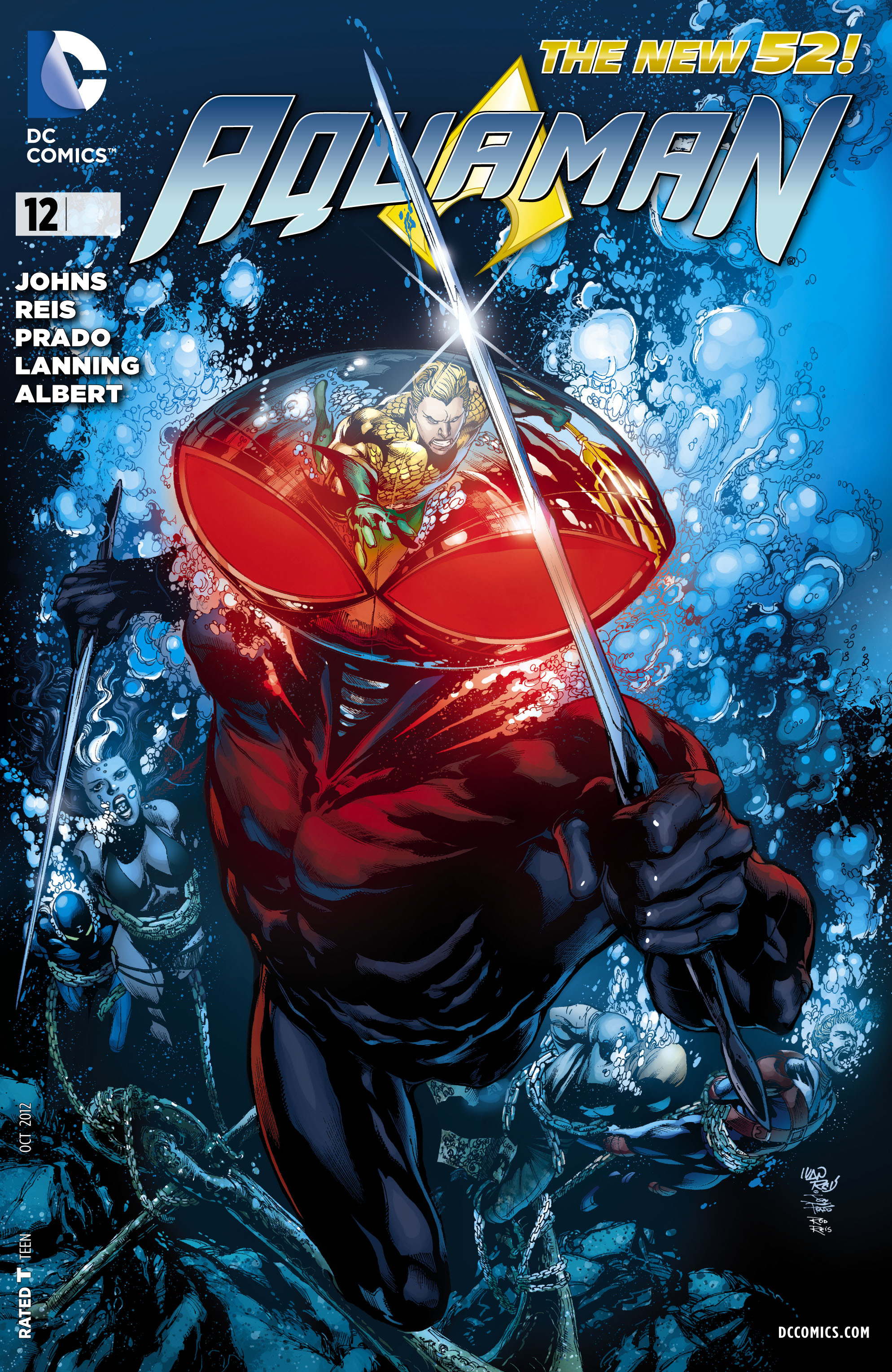Read online Aquaman (2011) comic -  Issue #12 - 1
