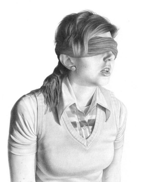 Рисунки карандашом. Rena Littleson