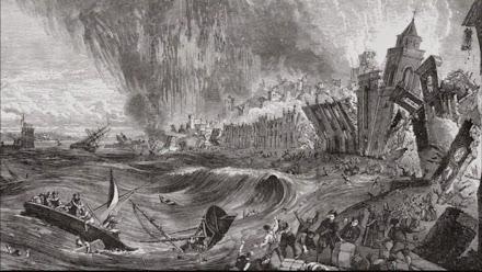 Ο σεισμός 9 Ρίχτερ στην Λισαβόνα το 1755