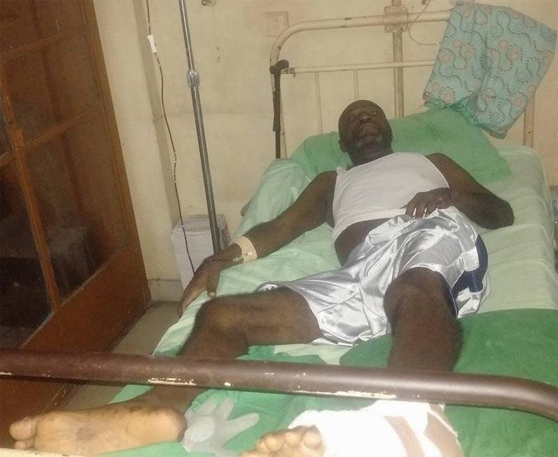 Photos: Nollywood actor Obi Madubogwu in battle with diabetes