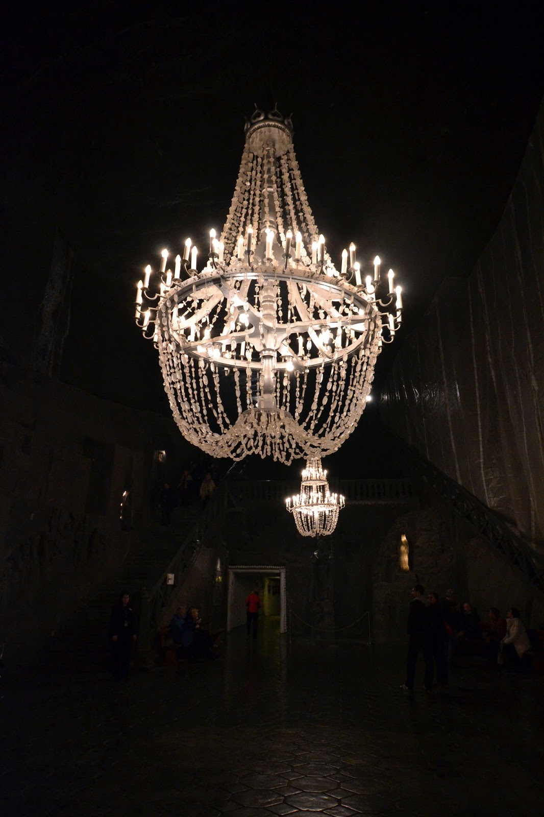 Wieliczka Salt Mine, Krakow, Poland, tours, guides, how to get to Wieliczka Salt Mine from Krakow, Prices, Opening hours, Michalowice Chamber, Jozef Pilsudski grotto, statue of St. John Nepomuk, saline lakes, Weimar chamber, Da Vinci's last supper salt, Chapel of the Blessed Kinga,