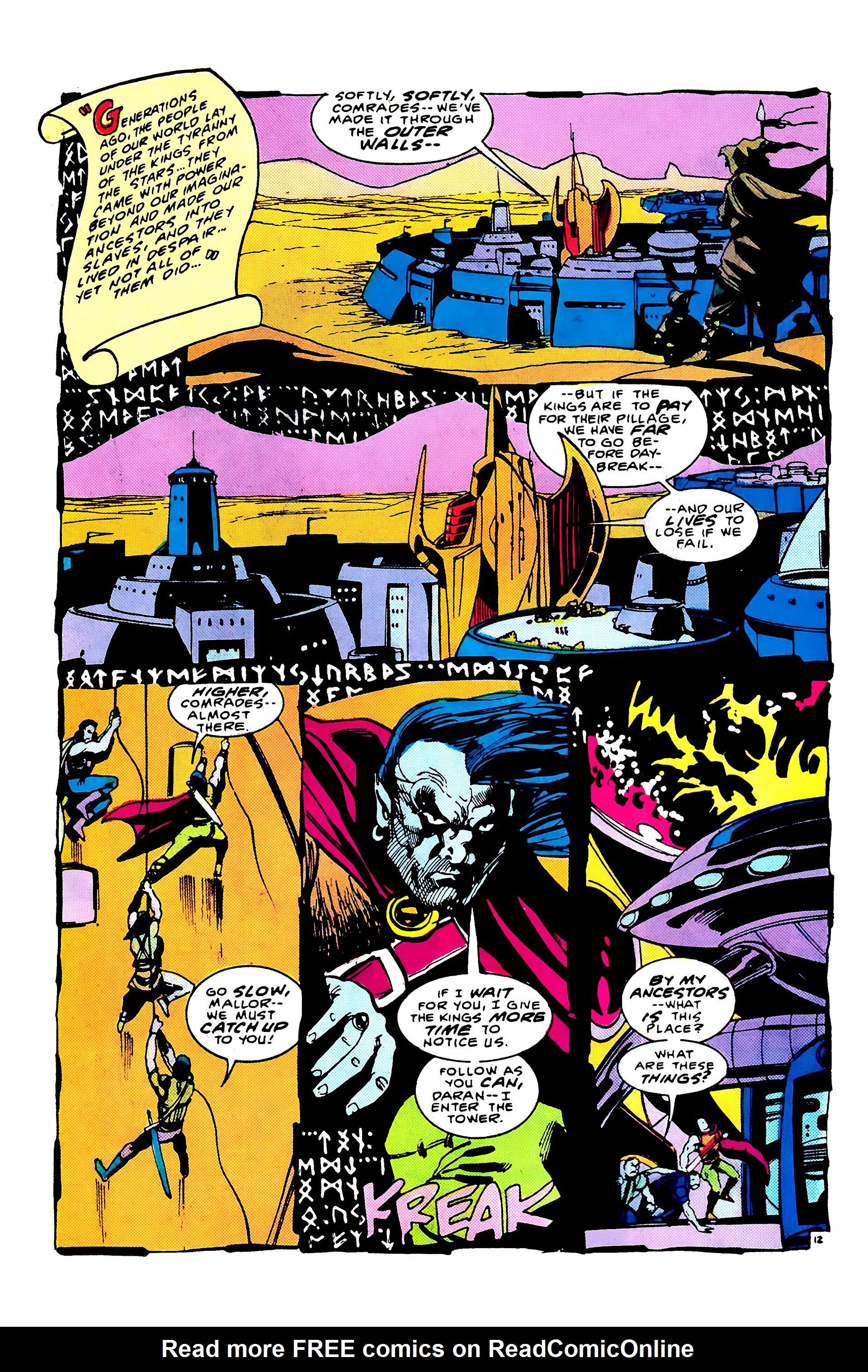 Read online Secret Origins (1986) comic -  Issue #8 - 18