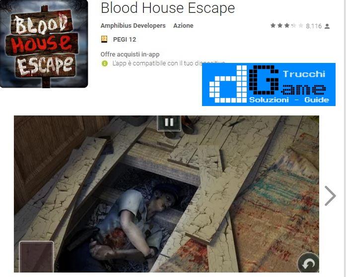 Soluzioni Blood house escape livello  1  2  3  4  5  6  7  8  9 10 | Trucchi e  Walkthrough level