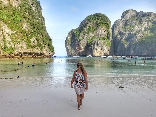 Maya Bay, Phi Phi. Tailândia