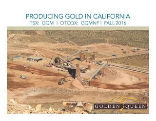 Golden Queen Mining Stock February 2020