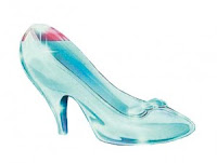 glass slipper zapatito de cristal