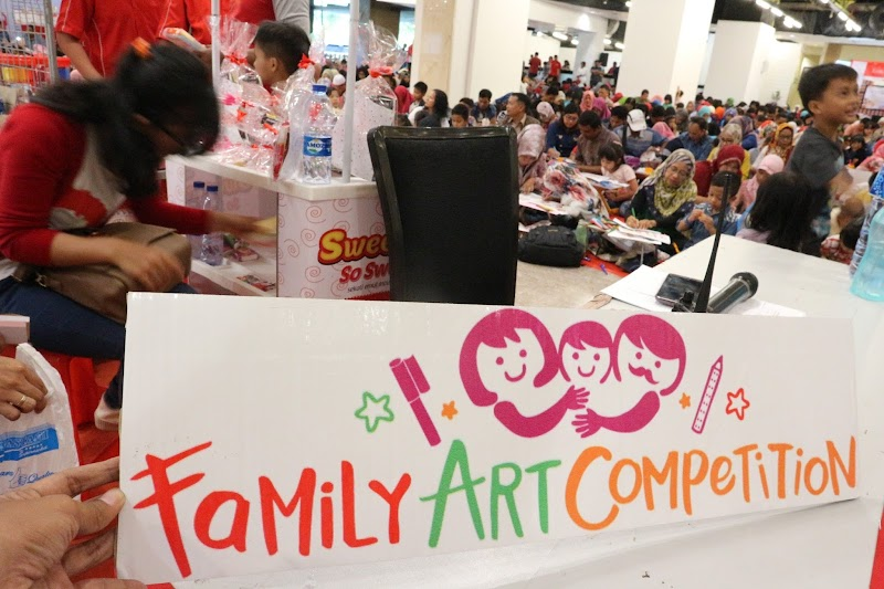 Faber Castell Gelar Family Art Competition di Medan