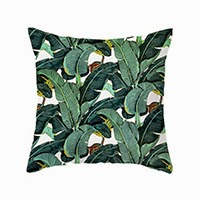 Banana Tree Pillow Cover